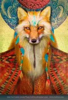 Wise Fox by `Foxfires on deviantART