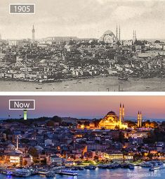 19. Istanbul, Turkey – 1905 And Now