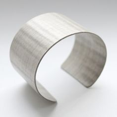 Fiddleback Sycamore Cuff now featured on Fab.