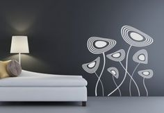 Fantasy flora Wall Sticker - decorate your walls