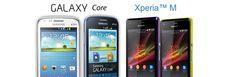#Galaxy_Core vs #Xperia_M - MyGadgetic.Com