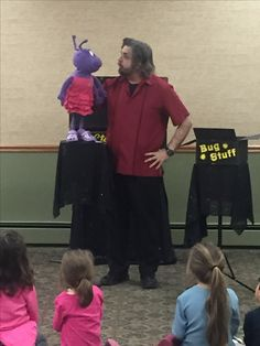 Always lots of laughs w/ Steve Petra and Petra Puppets!