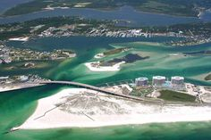 High shot of Perdido Pass and Bear Point.  Click the link to visit our website and view current Orange Beach, AL homes for sale.  http://www.condoinvestment.com/orange-beach-al-subdivisions.php