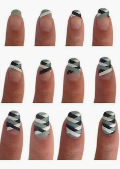 Nails Art Tutorials: because we all have time for this shit.  :/