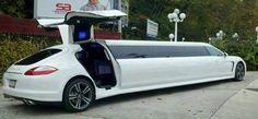 Amazing Porsche - Gull Wing limousine...