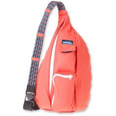 "The Kavu Rope Bag for Women has so many uses. Its a durable day pack you can use on the trail or around town, and the perfect travel companion. Its functional enough for daily use and stylish enough to make a statement. Plus, there are so many sporty patterns to choose from. It also holds more than youd expect considering its slim, snug-fitting design. The Kavu Rope Bag for Women is consistently one of Kavus most popular bags - for good reason! Made of 12 oz. cotton canvas, the 11"" x 20""…"
