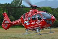 Italian EC135 HEMS helicopter, Photo : André Bour