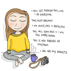 mental wellness Journey to Wellness is creating Cartoons amp; Illustrations about Mental Health amp; Mental Health And Wellbeing, Mental Health Quotes, Mental Health Awareness, Mental Strength Quotes, Mental Health Support, Anxiety Tips, Anxiety Help, Anxiety At Work, What Anxiety Feels Like