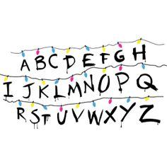 Image result for stranger things alphabet