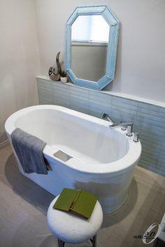 Bathroom Reno Bathroom Renos, Design Consultant, Design Firms, Corner Bathtub, Interior Design, Retro, Projects, Home, Nest Design