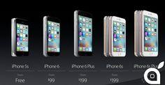 iPhone 6s e 6s Plus: prezzi e disponibilità