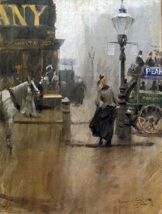Anders Zorn - Impressions of London