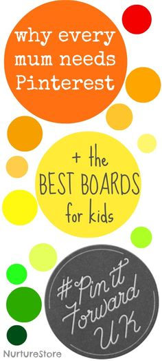 Why every mum and mom {& teacher!} need Pinterest and the best boards for kids - fab list to follow!