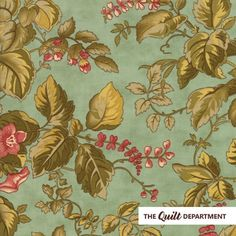 MODA Fabric ~ SWEET CHERRY WINE ~ by Blackbird Designs by 1//2 yard 2784 12