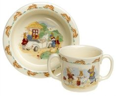 Royal Doulton Bunnykins Baby Dinnerware Set, Assorted Motifs by Royal Doulton, http://www.amazon.com/dp/B00020DTP6/ref=cm_sw_r_pi_dp_7SCFqb1QZ60SM