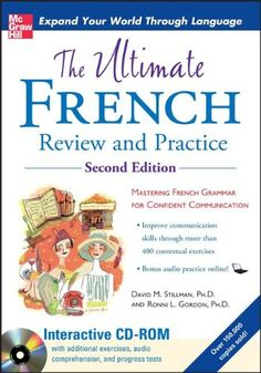 The Ultimate French Review and Practice by David Stillman http://www.amazon.com/dp/0071744142/ref=cm_sw_r_pi_dp_A6jMwb04XE9JZ