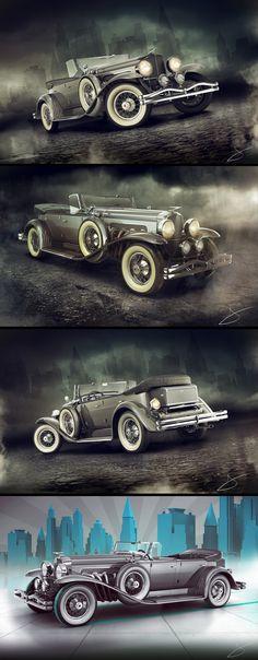 1929 Duesenberg Model J Dual Cowl Phaeton by Tigersfather ★。☆。JpM ENTERTAINMENT ☆。★。