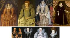 Tudor – Elizabethan Hairstyles and Headwear – The History Buff Hair Frizz, Tudor Era, Black Hood, Medieval Fashion, Queen Elizabeth, Hair Pieces, Wigs, Royalty, History
