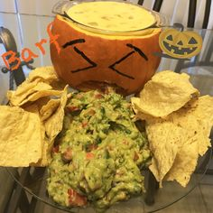 jack o lantern chips and dip recipe in 2018 halloween recipes pinterest dips halloween parties and recipes