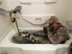 He just couldn't handle the end of duck season!!!!!