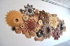 Wooden Spiraling Coral Reefs – Fubiz Media