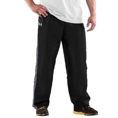 Men's Attack Woven Training Pants Bottoms by « Impulse Clothes