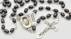 Lourdes Water Junction Rosary Beads