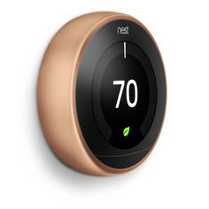 Nest Learning Thermostat Gen- Installed Price by Nest Pro* Home Automation System, Smart Home Automation, Nest Thermostat, Alexa Device, Home Gadgets, Works With Alexa, Heating Systems, Frases, Saving Money