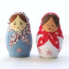 Babushka Baby Rattle - things my future children will have.