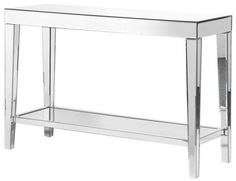 Coach House Venetian Mirrored Glass Hall Console Table with Shelf is a splendid addition to any home decor. Venetian Hall Table with Shelf Glass Furniture, Custom Made Furniture, French Furniture, Shabby Chic Furniture, Table Furniture, Bedroom Furniture, Mirror Hall Table, Hall Console Table, Entryway Tables