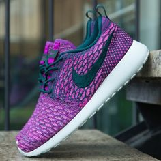 Nike roshe one flyknit New in box womens nike roshe one flyknit size 7.5. Box has no lid. Make an offer :) Nike Shoes Athletic Shoes