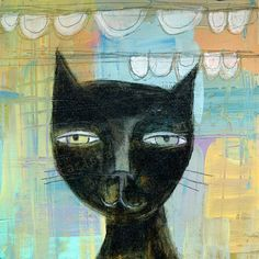 Beautiful Black Cat http://img0.etsystatic.com/000/0/5707664/il_570xN.173284736.jpg