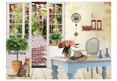 la porta sul giardino  by mirellaparer | Olioboard