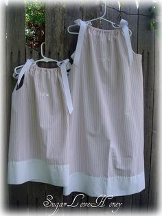 pillowcase dresses for sisters