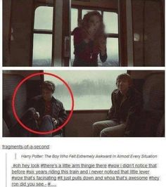 Harry Potter: The Boy Who Felt Awkward in Almost Every Situation.