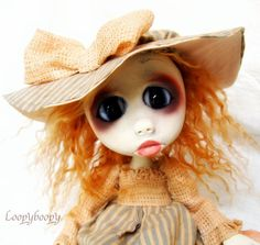 Loopy Gothic Goth Art Doll Ooak Romantic Victorian by loopyboopy, $275.00