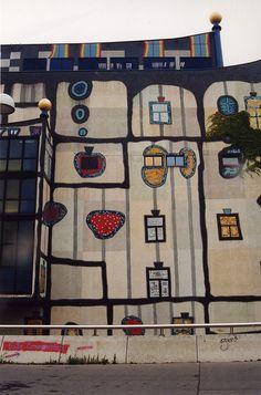 Hundertwasser, Vienna