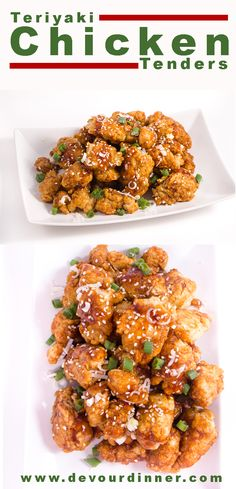 Clingy Chicken Tenders With Teriyaki Sauce Will Be Devoured By Big And Little Hands. Speedy Easy Snack, Appetizer Or Meal. Easy Chicken Recipes, Turkey Recipes, Asian Recipes, Chinese Recipes, Sauce Teriyaki, Teriyaki Chicken, Easy Snacks, Easy Meals, Great Appetizers