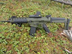 Im wanting to get some nice new parts for my baby(XCR-M like a new pistol grip Zombie Weapons, Weapons Guns, Guns And Ammo, Zombie Survival Gear, Shooting Bench, New Electronic Gadgets, Revolver Pistol, Battle Rifle, Military Special Forces