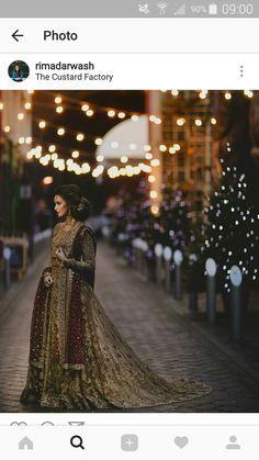 Wonderful Perfect Wedding Dress For The Bride Ideas. Ineffable Perfect Wedding Dress For The Bride Ideas. Indian Bridal Sarees, Indian Bridal Wear, Asian Bridal, Pakistani Wedding Dresses, Bridal Lehenga, Designer Wedding Dresses, Indian Dresses, Eid Dresses, Wedding Sarees
