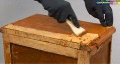 Besoin de décaper du bois ? Testez cette méthode naturelle ! - Astuces de grand mère