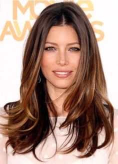 jessica biel hair 2013 | Ombre HairStyle Fashion & Hollywood Jessica Biel Ombre HairStyle ...