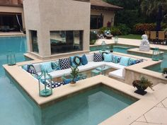 Crazy Cool Pool outdoor living area.
