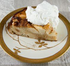 Alsatian Apple Cake http://www.thetasteoforegon.com/2009/09/comfort-me-with-apples/
