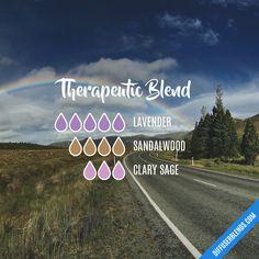 Therapeutic Blend — Essential Oil Diffuser Blend