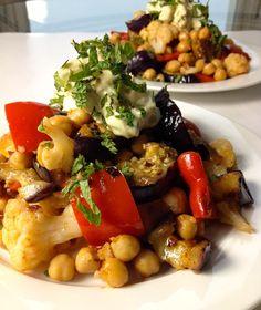 #Vegan Moroccan Salad, quick easy #healthy #recipes