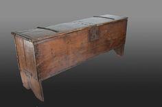 15th century chest, Marhamchurch antiques