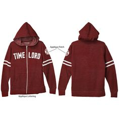 Doctor Who: Time Lord Hoodie