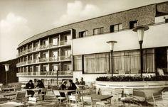 Pécs, Mecsek Szálló, 1935-37. / Nyíri István, Lauber László - (más néven Hotel Kikelet vagy Mecsek SZOT üdülő)