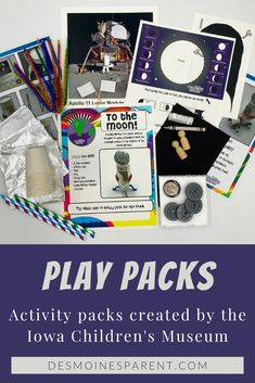 5 Reasons to Purchase a Play Pack from The Iowa Children's Museum Indoor Activities For Kids, Free Activities, Working Memory, Stem Science, Science Education, Parenting Tips, Problem Solving, Iowa, More Fun